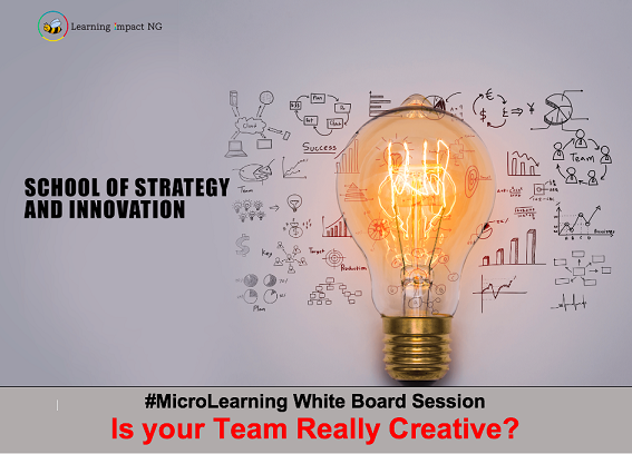 Is your Team Really Creative?